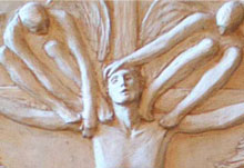Liturgical Relief Sculpture