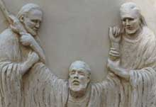 Moses, Aaron & Hur